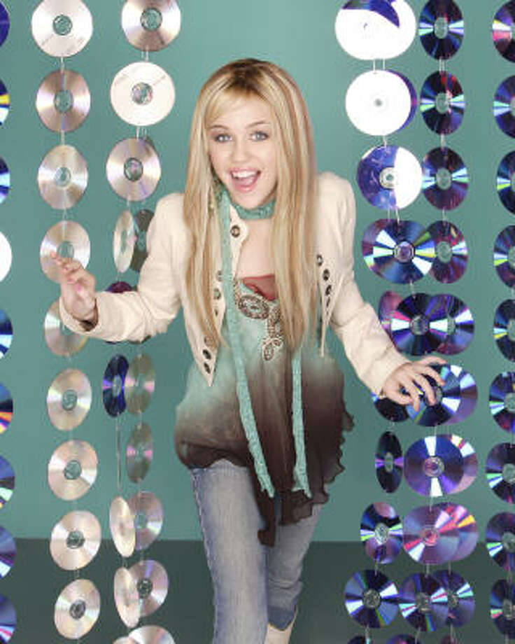 """Miley Cyrus' break came on the Disney Channel's 'Hannah Montana' in 2006. Since then she has been a pop star with her hit """"Party in the U.S.A."""" Too bad she's never actually heard a Jay-Z song.  Photo: Disney Channel"""