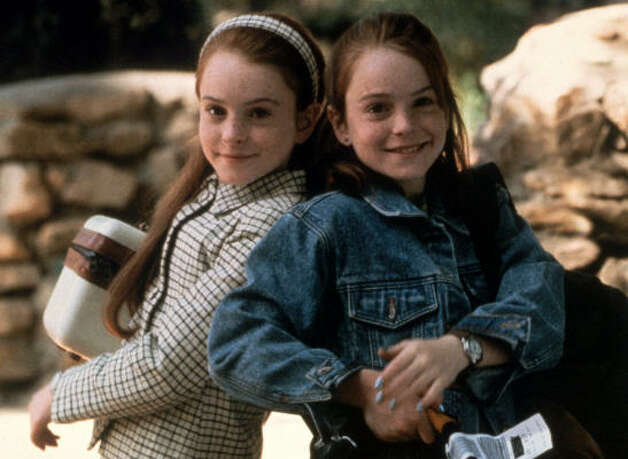 "How adorable was Lindsay Lohan in Disney's 1998 remake of ""The Parent Trap""? Photo: Disney"