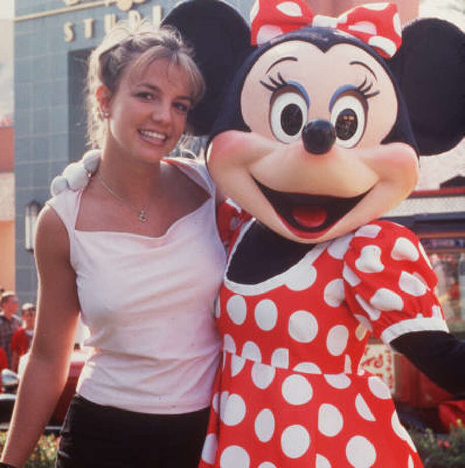 Britney Spears rocketed to the top of the music world post-Disney in 1999, but had some trouble (see bald Britney) before rebounding.  Photo: Disney