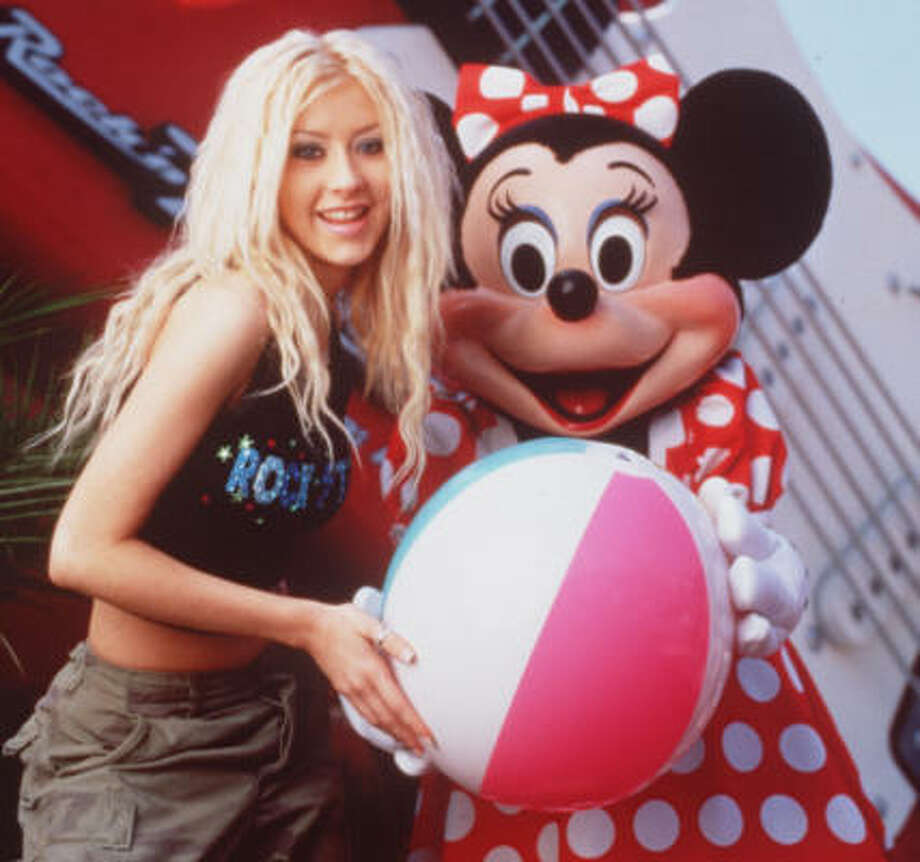 Christina Aguilera went from 'The Mickey Mouse Club' in 1993 to being heard in the clubs in 1999. Photo: Disney