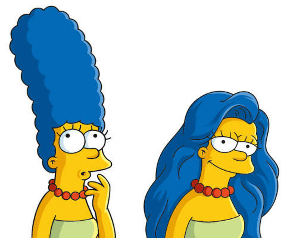 Marge hasn't aged a day since her 1989 debut.  She and the rest of the family are on their 25th season. Photo: AP