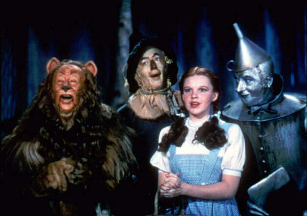 """The Wizard of Oz"" would look quite beautiful remastered too.  Photo: Warner Bros., AP"