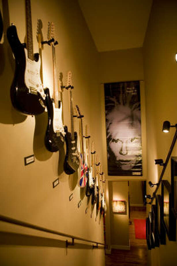 The first electrically amplified guitar was designed in 1931 by Coleman County's George Beauchamp. Photo: Jill Hunter, For The Chronicle