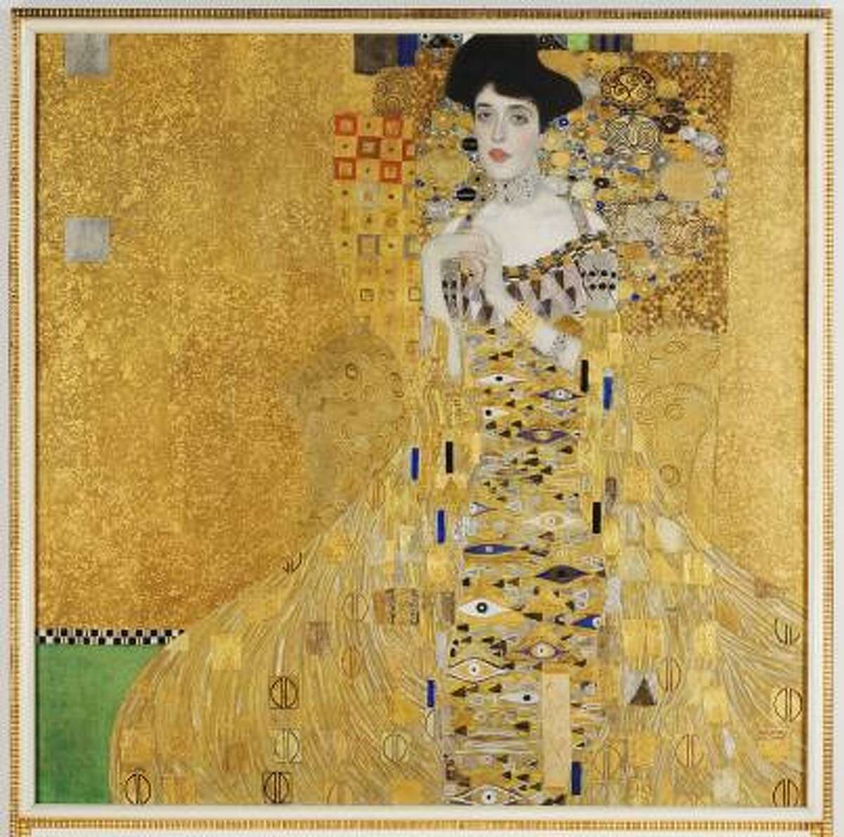 prized possession: Stolen by Nazis in 1938, this Gustav Klimt portrait of Adele Bloch-Bauer was recently returned to the heiress of Bloch-Bauer by the Austrian government. It later sold for $135 million.