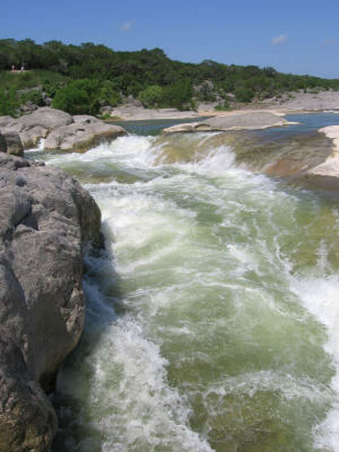 Looking for something a little cheaper and more natural? Visit Pedernales Falls State Park. Photo: Andy Olin, Chronicle
