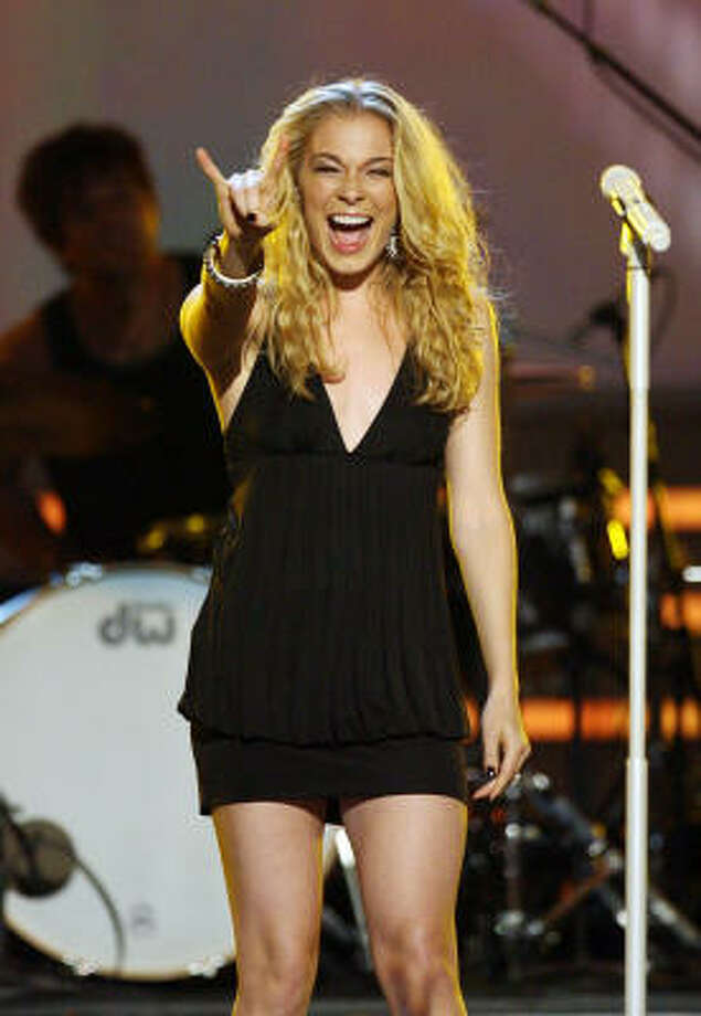 """LeAnn Rimes shot to stardom when she was 13 after her rendition of Bill Mack's """"Blue."""" Photo: Ethan Miller, Getty Images"""