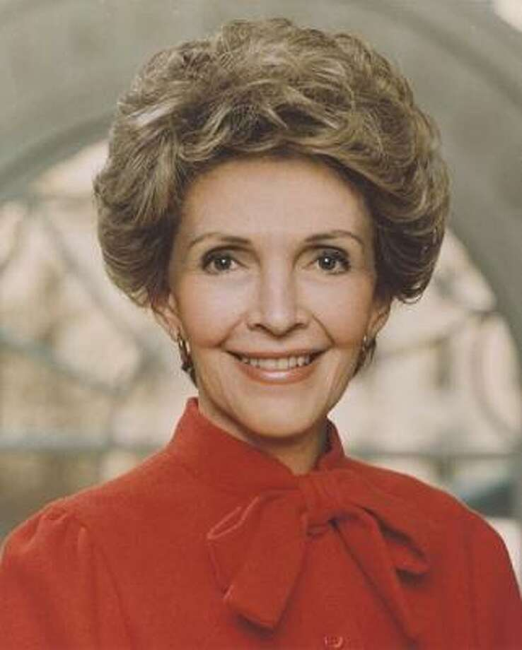 "Following the R pattern, Nancy Reagan received the codename ""Rainbow"" Photo: University Of Texas"