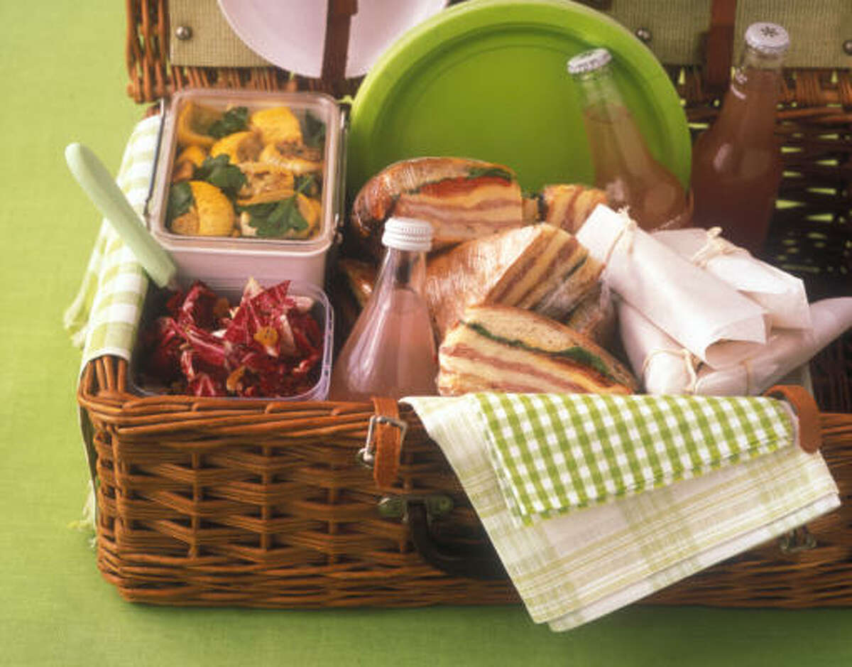 Prepare a very nice lunch for you mom and pack it in a picnic basket. Who knows? She might even invite you to come along.