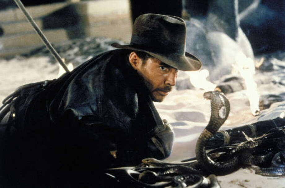 The Indiana Jones trilogy would look great. Remember that scene with the huge boulder about to run over Indy? Picture that in IMAX. Photo: AP File