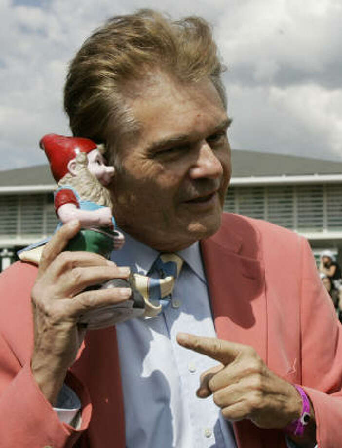 The actor's lewd act in a movie theater begs the question is Fred Willard the new Paul Reubens?  Photo: Amy Sancetta, AP