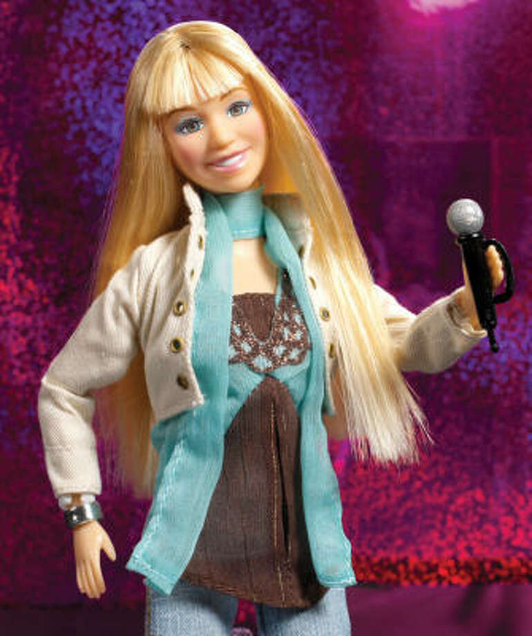 The Hannah Montana singing doll even capitalized on the Hannah Montana craze. Photo: Handout