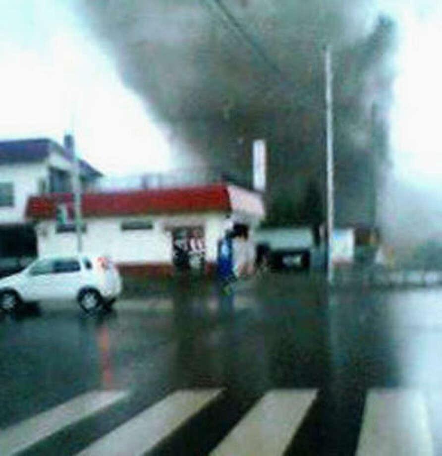 This tornado killed at least nine people Nov. 7, near Saroma, Hokkaido. Photo: Reuters