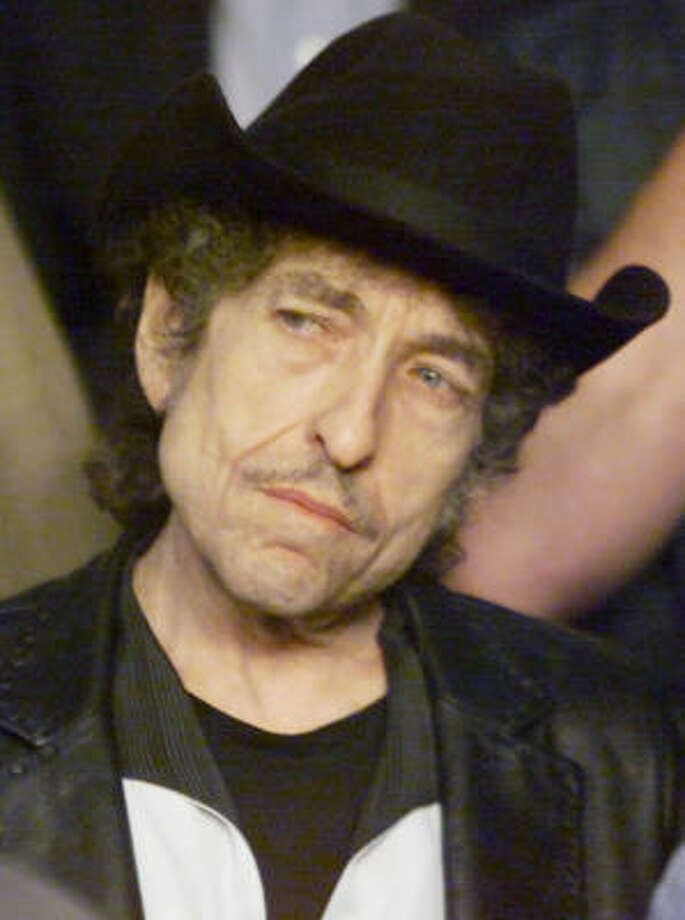 Bob Dylan Photo: JEFF ZELEVANSKY, Associated Press