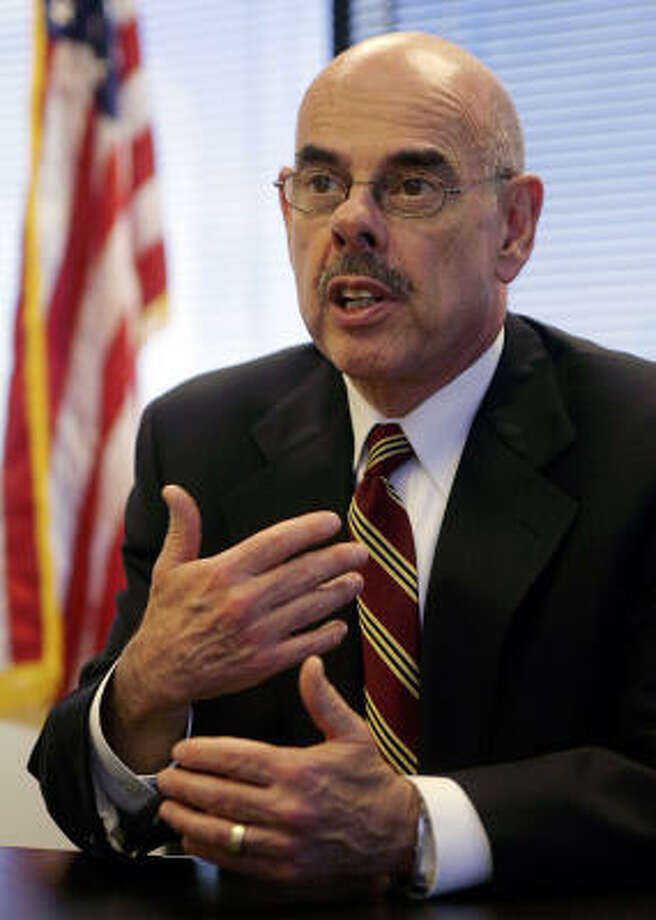 """Rep. Henry Waxman, D-Calif., is expected to be """"very aggressive"""" as the new chairman of the Government Reform Committee. Photo: DAMIAN DOVARGANES, AP File"""
