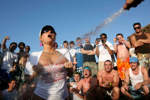 More from the wet T-shirt contest. Photo: Rick Gershon, Getty Images