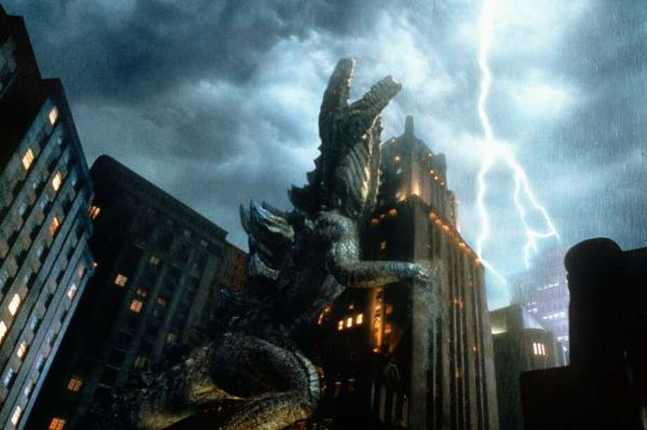 There are 28 Godzilla films. That is not a typo.  Photo: CENTROPOLIS EFFECTS, AP