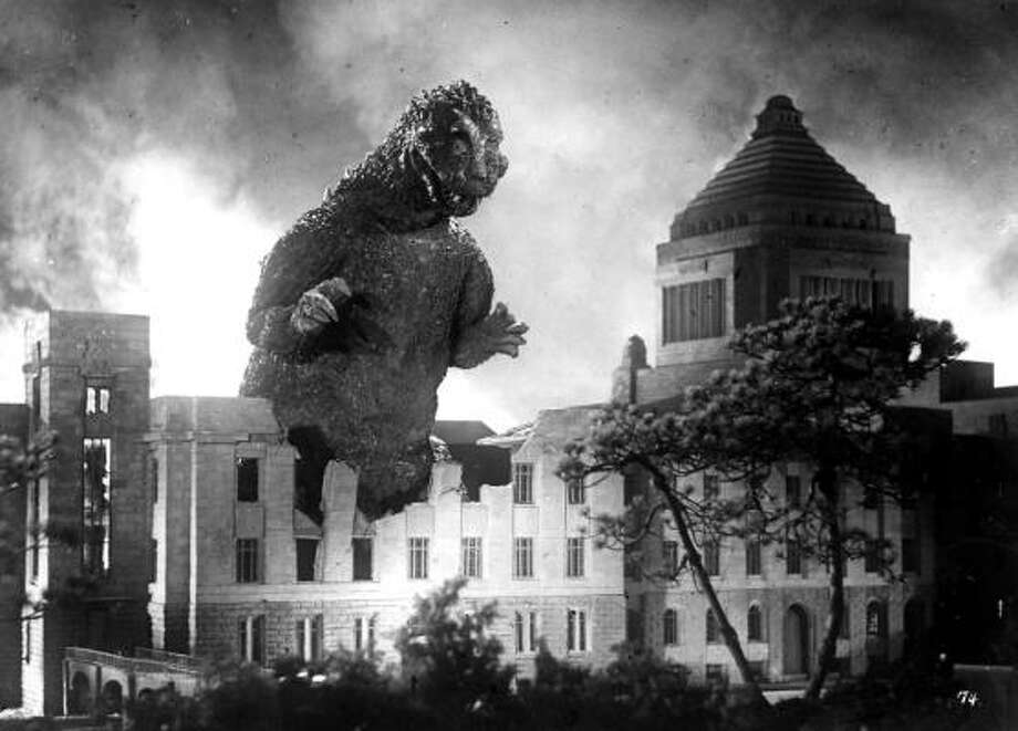 If you thought Godzilla was huge before, imagine him on IMAX.  Photo: AP File