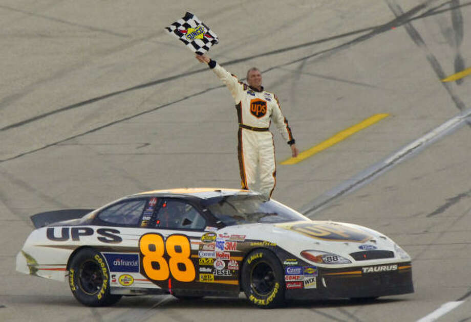 NASCAR driver Dale Jarrett turns 56. Photo: BRUCE CHAPMAN, AP