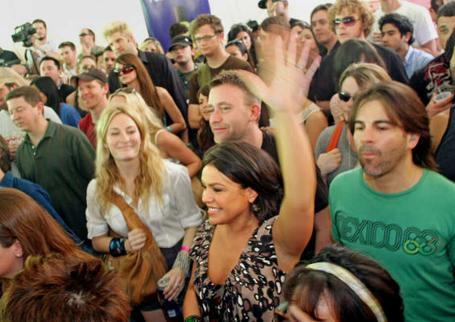 Hotels will be all booked up and pricey. Couch crashing will be at an all-time high during SXSW, so if you don't have a place to stay it shouldn't be too hard to find a generous face in the crowds.  Photo: Jack Plunkett, AP