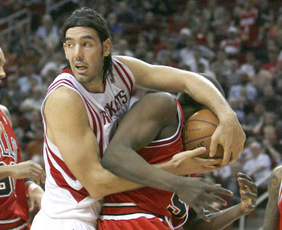 Luis Scola, one of the more durable big men in NBA history, is selling not one, but two Houston-area homes. Combined, the two homes add up to just under a million dollars. Photo: Steve Campbell, Chronicle