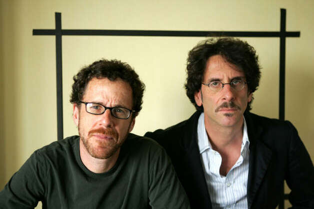 Director Joel Coen, right, shown here with his brother Ethan, turns 58. Photo: STEFANO PALTERA, AP