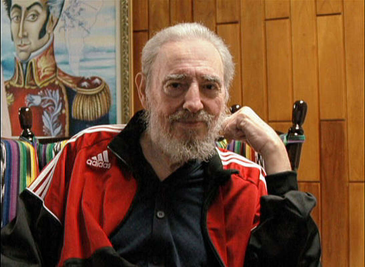 Brazilian President Luiz Inacio Lula da Silva took this picture of Cuban President Fidel Castro during a meeting Jan. 15 in Havana, the most recent appearance of the ailing 81-year-old president.
