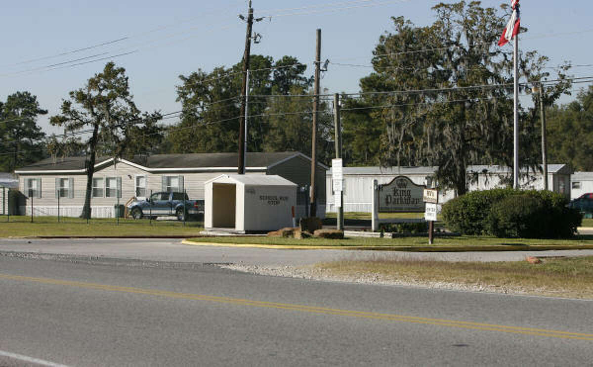 The King Parkway mobile home community is the location where a 4-year-old boy was mauled to death by two pit bulls on Tuesday.