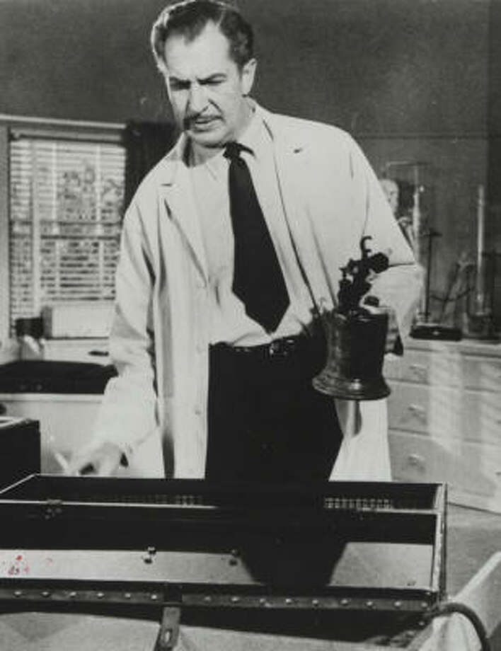 "The late actor Vincent Price is known for his distinct, creepy voice. Price's evil-sounding cackle appears at the end of the classic ""Thriller"" video by Michael Jackson.  Photo: Chronicle File"