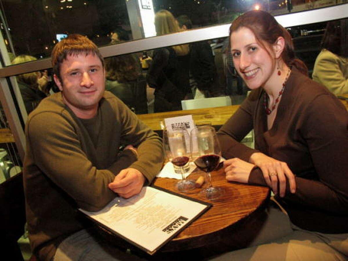 Collin Morrison and Whitney Landa
