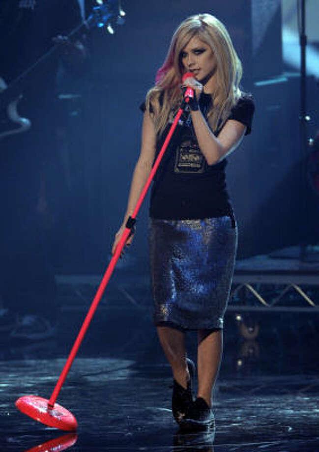 "Avril Lavigne's perfume is called ""Forbidden Rose."" Photo: Kevork Djansezian, AP"