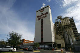 The 16-story Maxwell House plant in the East End has been sold to Maximus Coffee Group. Little will change at the facility except the sign with the tilted coffee cup.