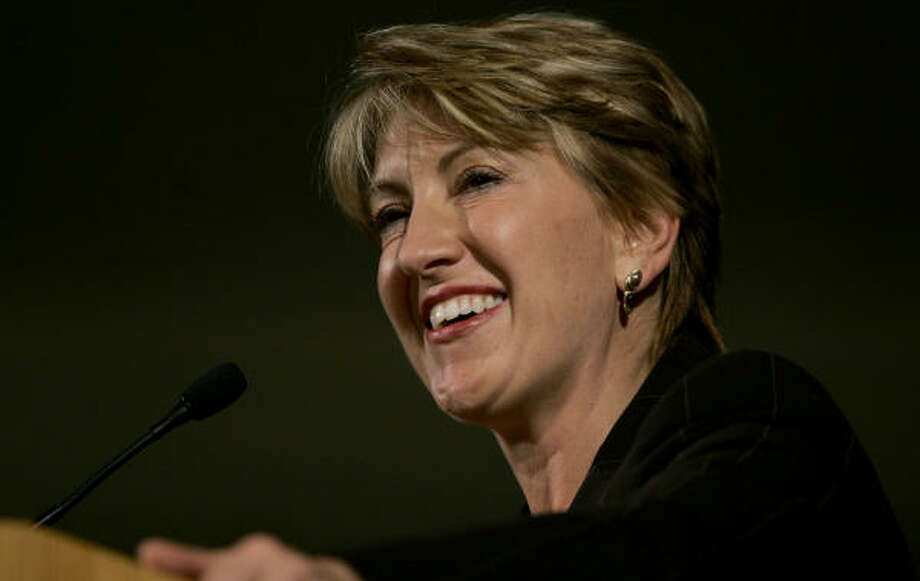 Carly Fiorina says she doesn't understand why she was let go as Hewlett-Packard's CEO. Photo: CHARLES KRUPA, AP