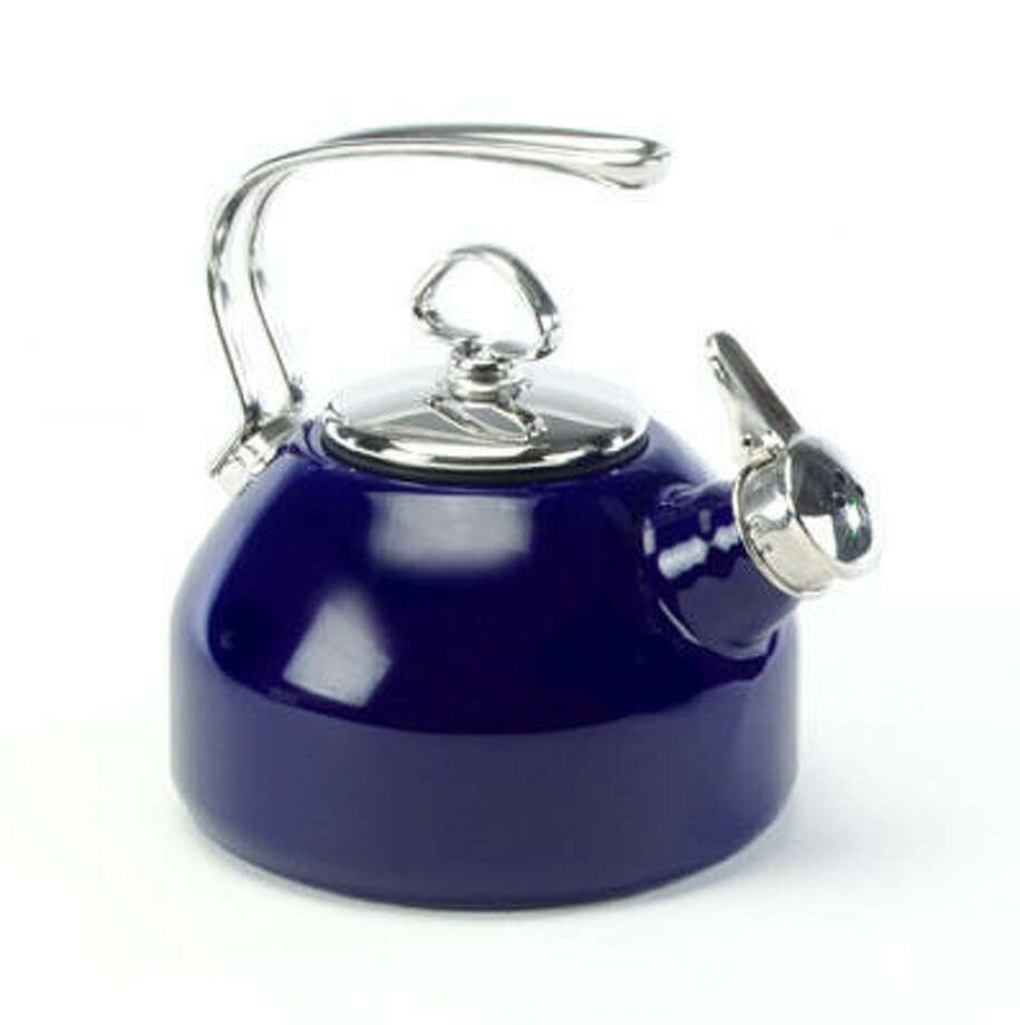 Around for 25 years, this teakettle remains Houston-based Chantal's best-selling item. Photo: Chantal