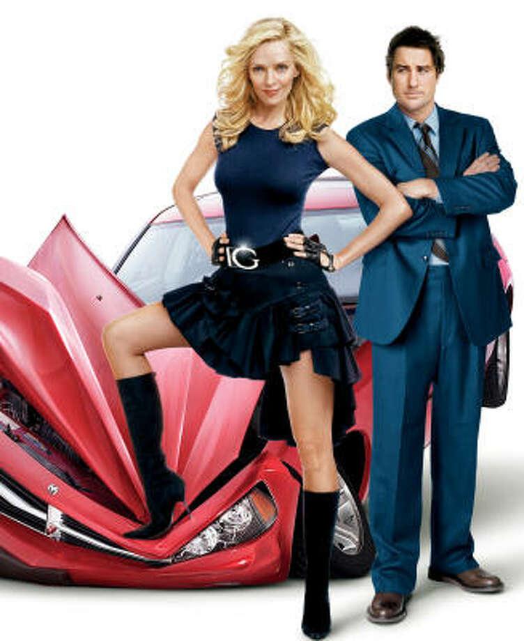 Uma Thurman and Luke Wilson star in My Super Ex-Girlfriend. Photo: Courtesy Photo
