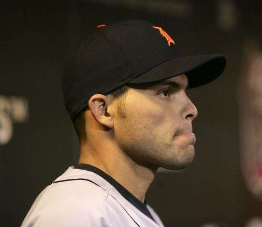 Ivan Rodriguez and the Tigers did not rise to the occasion. Photo: MIKE SEGAR, REUTERS