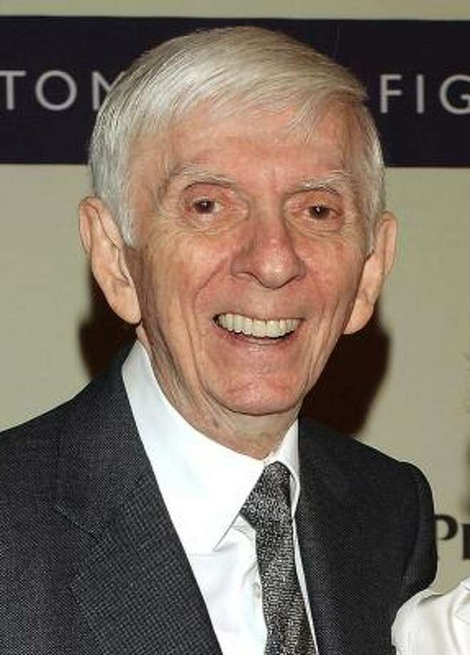 Television producer Aaron Spelling, seen here in March 2005, died Friday at his home in Los Angeles after suffering a stroke. Photo: JIM RUYMEN, REUTERS