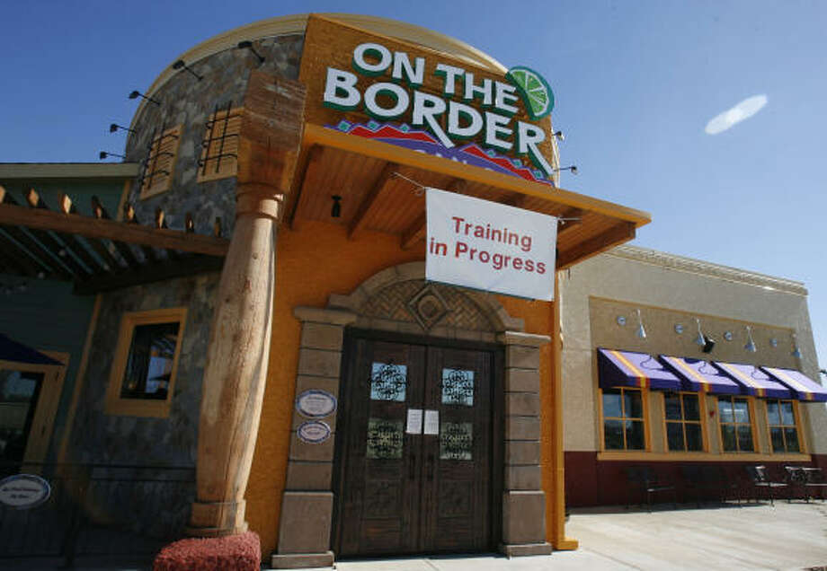 The first On the Border opens this week at U.S. 290 and Spring Cypress. Photo: Sharon Steinmann, Chronicle