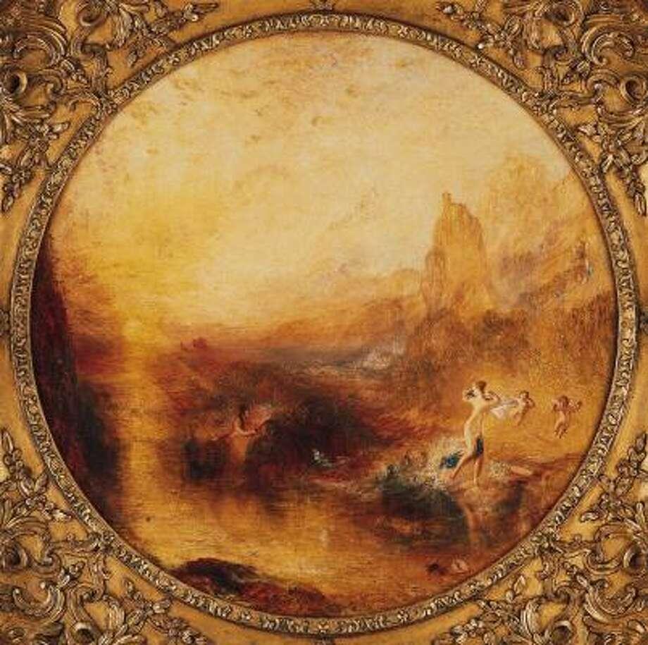 J.M.W. Turner's Glaucus and Scylla, 1841. Photo: Kimbell Art Museum