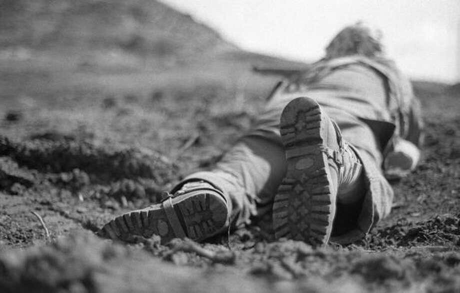 Sniper, Iwo Jima+ 60, Doss, 2005. Photo: Will Michels