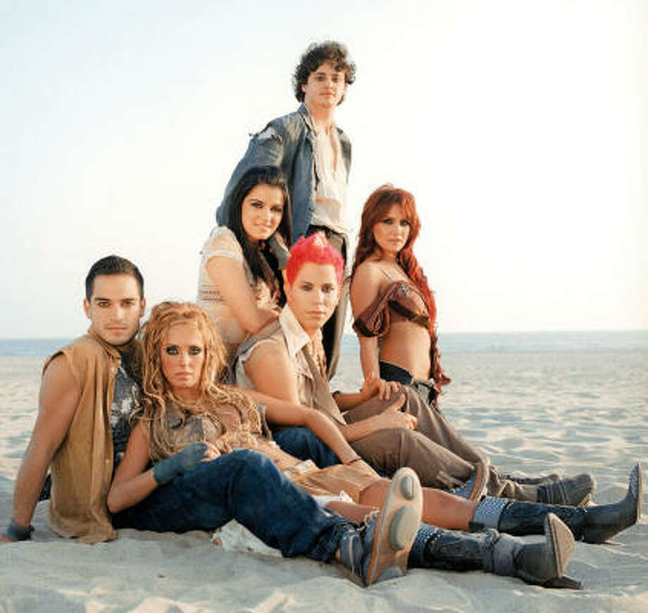 RBD, a Mexican-bred pop group, returns to Houston Monday for a splashy show at Toyota Center. Photo: EMI International