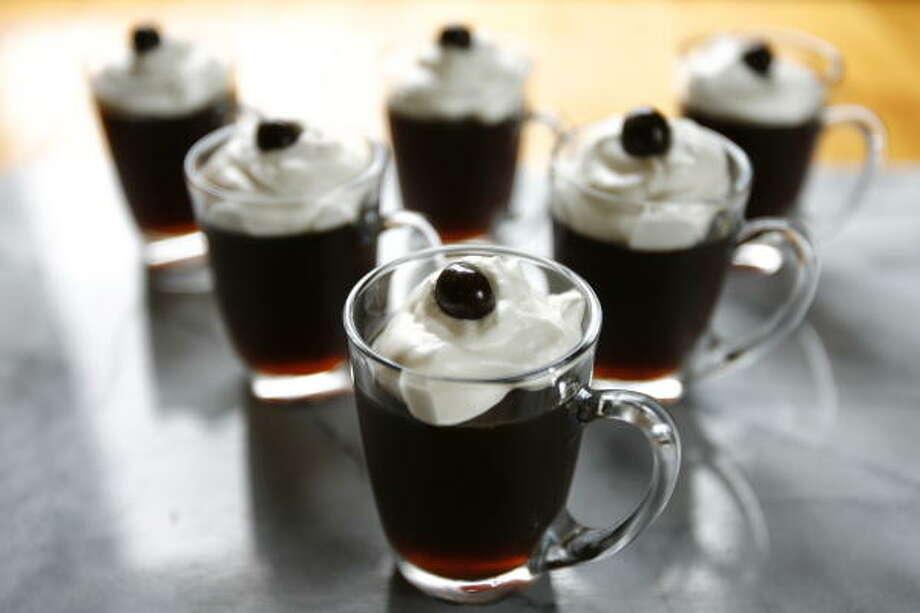 Watch it wiggle, see it jiggle. Make Coffee Jelly and make some fun. Photo: Kevin Fujii, Chronicle