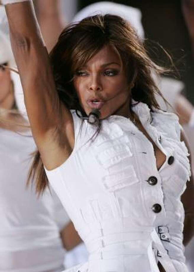 Janet Jackson performs on the Today Show last week. Photo: Getty Images