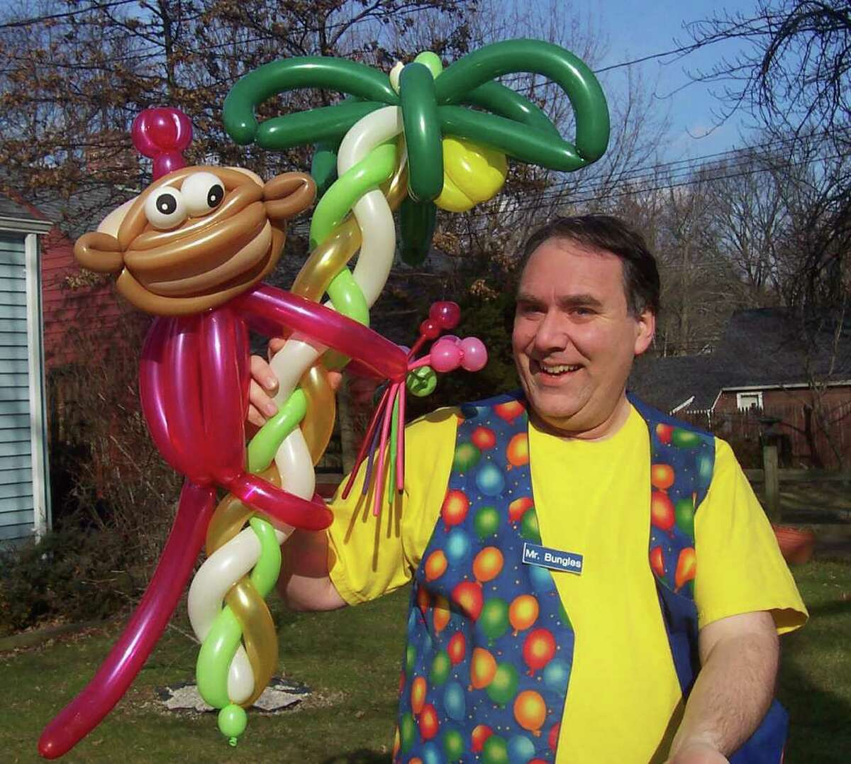 Mr. Bungles will be at the East Norwalk Library Friday.