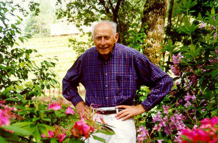 Al Brounstein, late owner of Diamond Creek Vineyards, began planting his 20 acres in the 1960s. Photo: Courtesy Photo