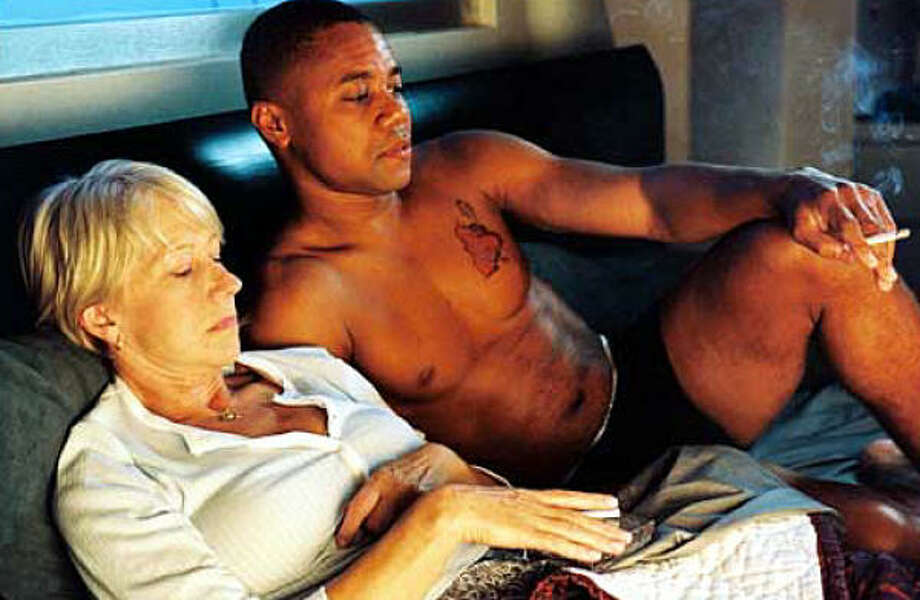 Rose and Mikey (Helen Mirren and Cuba Gooding Jr.) are stepmother and stepson, contract killers and lovers in Shadowboxer. Photo: Courtesy Photo