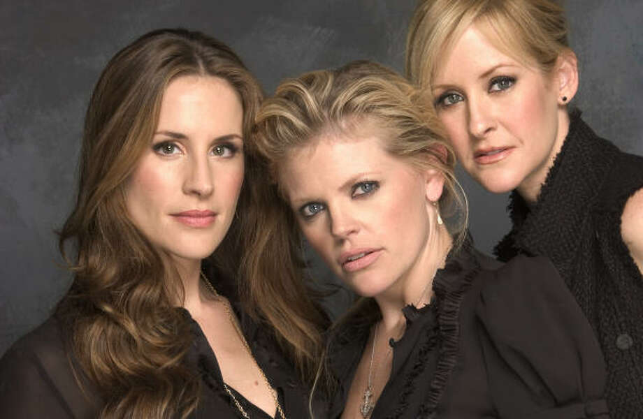 The Dixie Chicks — Emily Robison, left, Natalie Maines and Martie Maguire — were big winners at this year's Grammy awards. Photo: Associated Press