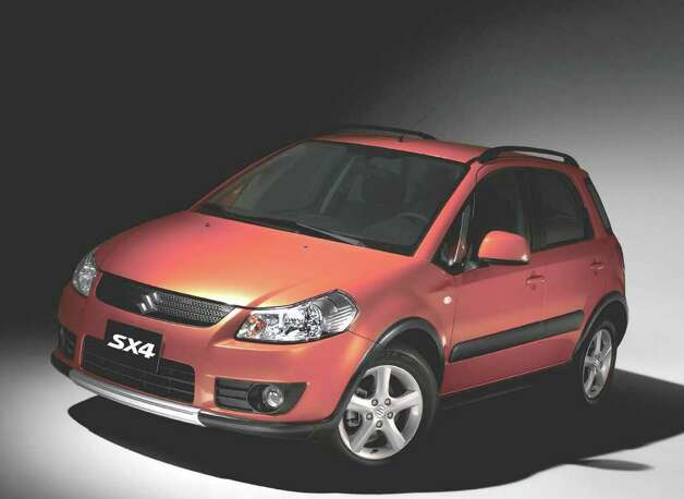 The 2007 Suzuki SX4 crossover wagon was the No. 1 used car on Kelley Blue Book's back-to-school list. COURTESY OF AMERICAN SUZUKI MOTOR CORP. Photo: COURTESY OF AMERICAN SUZUKI MOTOR CORP.