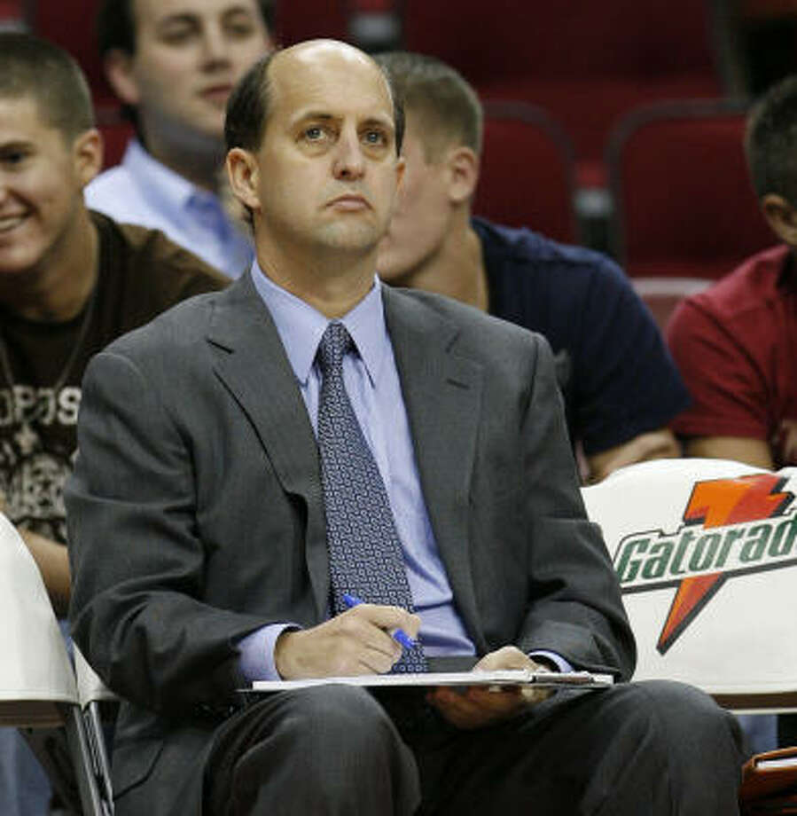 """Here's what Jeff Van Gundy said about Bonzi Wells' comeback: ``He called me about a week ago, and we talked and he wanted to give it another opportunity."""" Photo: James Nielsen, Chronicle"""