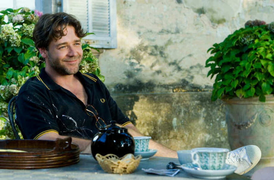Max Skinner (Russell Crowe) settles into an intoxicating new chapter in his life, in A Good Year. Photo: 20th Century Fox