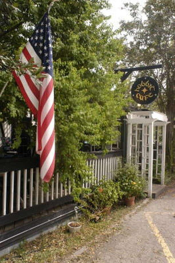The Hobbit Cafe on Richmond Avenue. Photo: Chronicle File